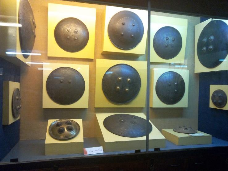 Shields at Kelkar Museum