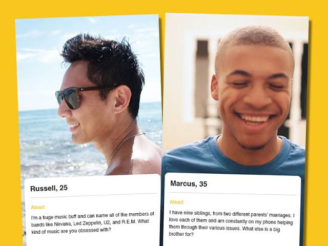 cute dating app bios